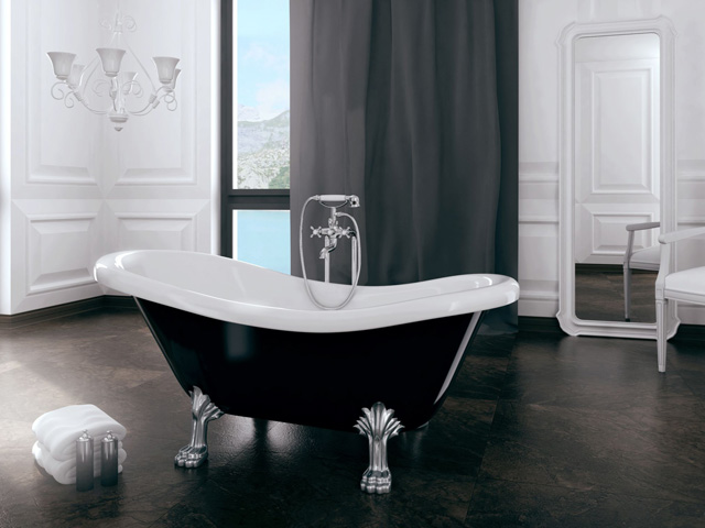 nowy pomys na azienk o elegancja w ka dym calu. Black Bedroom Furniture Sets. Home Design Ideas
