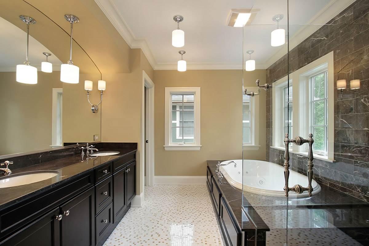 Nowoczesne Oświetlenie łazienki OŁazienkach Pl